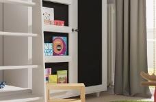 小户型北欧二居室装修设计,高颜值与强收纳并存图_9
