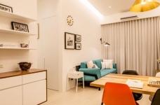 小户型北欧二居室装修设计,高颜值与强收纳并存图_7