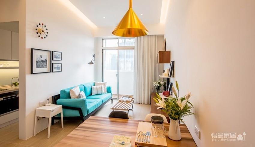 小户型北欧二居室装修设计,高颜值与强收纳并存图_1