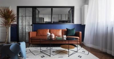 85平简约风,卧室空间宽敞采光好,舒适性远远大于客厅