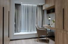 155平现代轻奢装修,客厅的设计确实奢而不华,线条感很强图_9