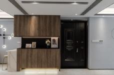 155平现代轻奢装修,客厅的设计确实奢而不华,线条感很强图_3