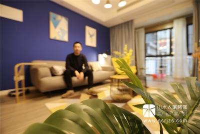 五里汉城120平三室两厅北欧