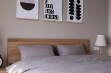 整体采用简约的日式风格装修,房间原木元素的搭配,让整个空间自然舒适,给人一种安静休闲的环境。图_6