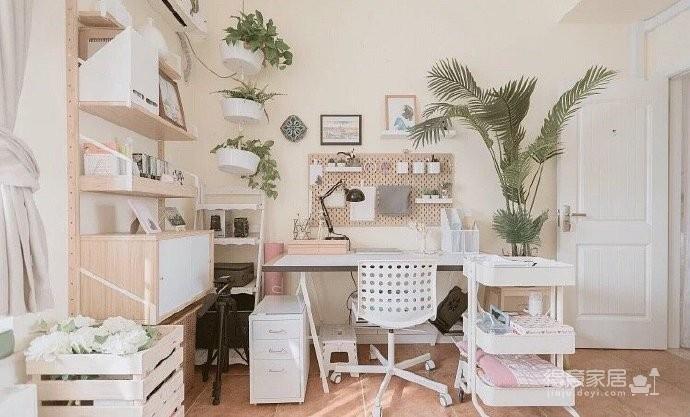 74平粉色温馨小居,家是容器,要用爱和用心来填满它