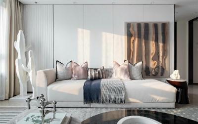 82㎡两居室的北欧两居室,干净却不单调!