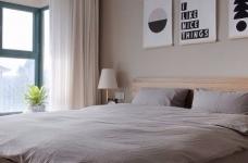 整体采用简约的日式风格装修,房间原木元素的搭配,让整个空间自然舒适,给人一种安静休闲的环境。图_5