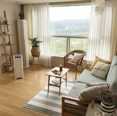 70平原木风 超级有爱 舒适的家