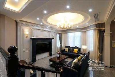 300平别墅温馨简美风格