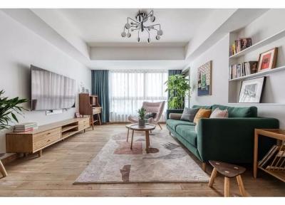 客户夫妇是年轻的一对,做起装修设计却是干劲十足,想要把自己的家布置成两人原先想象的样子,他们的家,真的布置得很好,很有家的感觉。