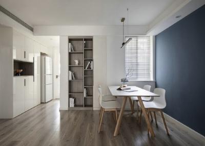 75㎡简约两居室  小户型也能设计出独立衣帽间!