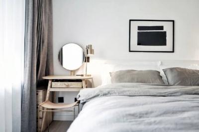 79㎡北欧风两居室,非常喜欢这种时尚简洁的空间感觉,清新又格调! 