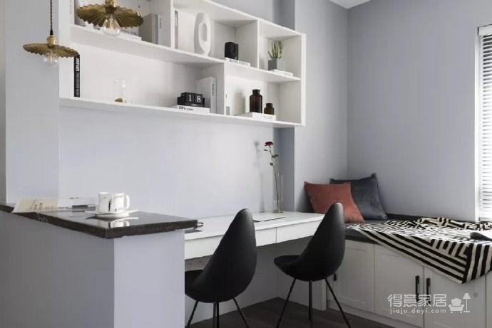 83㎡清新北欧风格家居装修设计,色彩斑斓又简约舒适,超爱! 