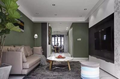 125平的现代简约风三居室,实现次卧有书房~