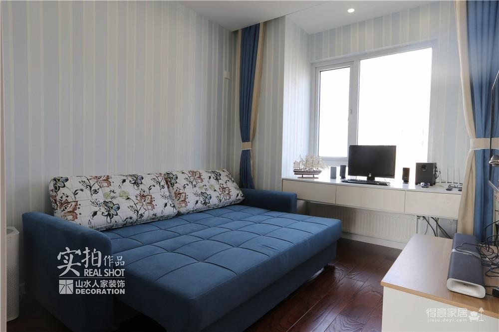 90平两室两厅蓝色地中海