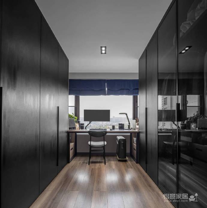 93平米现代简约三居室