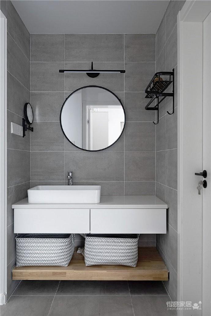 108平简约混搭风装修,干练整洁,舒适干净的家,值得借鉴