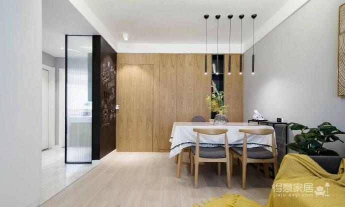 76平简约风装修,一个舒适的家能给生活带来的很多美好