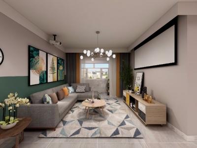 室内空间开敞、内外通透,在空间平面设计中追求不受承重墙限制的自由。