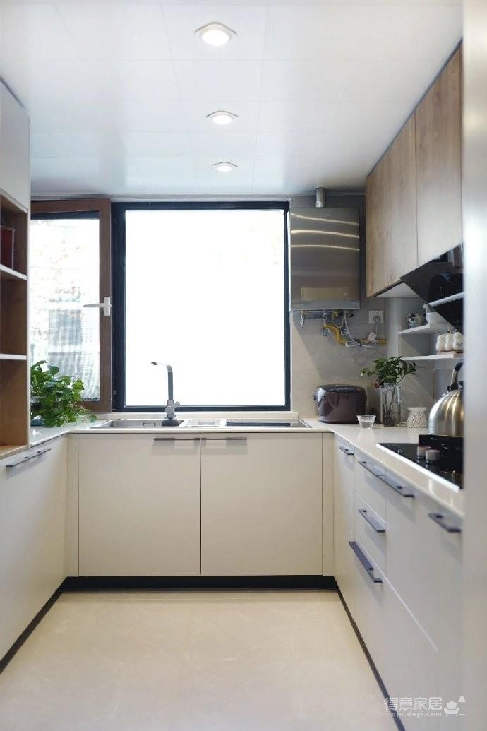 98㎡现代简约风格家居装修设计,温润又温馨之家! 图_3