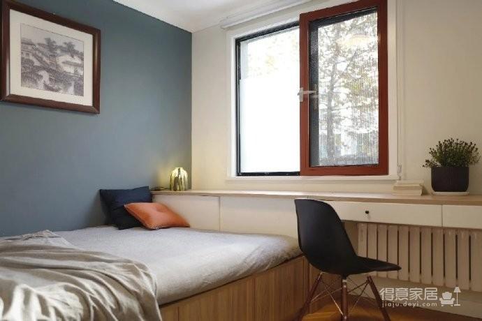 98㎡现代简约风格家居装修设计,温润又温馨之家! 图_2