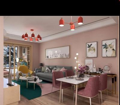 简洁不浮夸的设计,自然清新的色调,注重功能性的实用家居,整体搭配结合在一起,营造的氛围是惬意自在,以及大方又具有亲近生活的感觉。