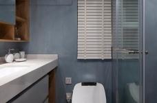 推开门,无论是谁,第一眼都会被这个色彩缤纷的客厅惊艳到!粉与蓝交织,黄铜与丝绒搭配,简直就像是印在杂志封面上的精美插画图_8