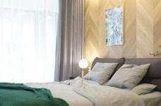 98㎡现代简约风格家居装修设计,温润又温馨之家! 图_8