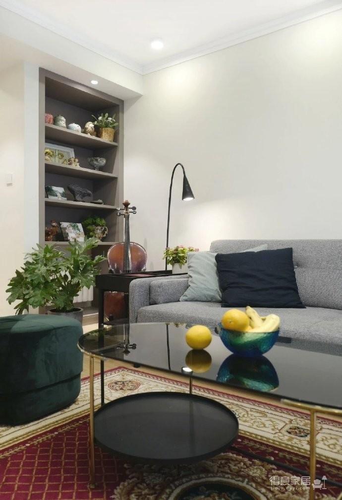 98㎡现代简约风格家居装修设计,温润又温馨之家! 图_6