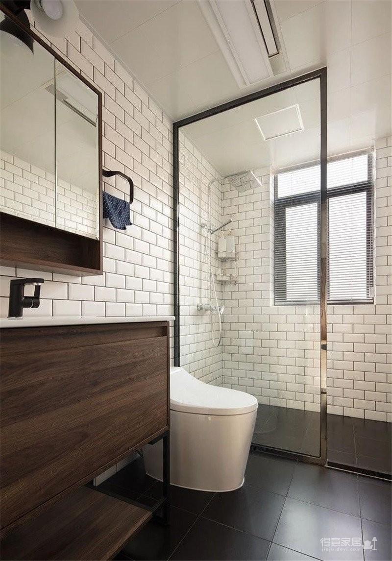 150㎡极具特色的三房装修案例,色彩运用好丰富!图_8