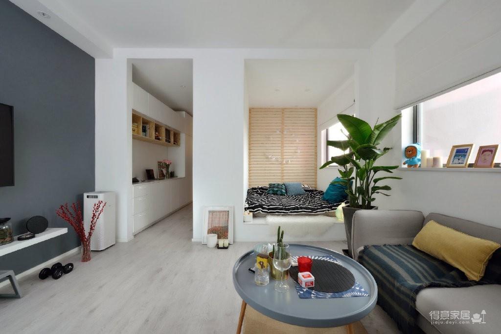 38平北欧单身小空间,舒适得像在度假!图_3