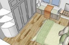 95㎡简欧家居,装饰上以传统风格为代表,结合现代元素图_5