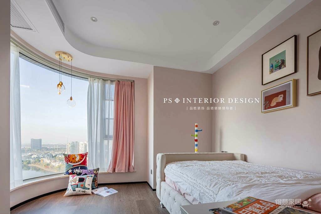 银湖翡翠-两居室原创案例设计分享图_6