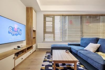 80㎡两居室原木风格小两居,质朴又清新!