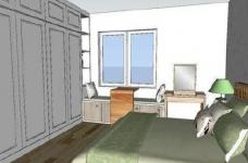 95㎡简欧家居,装饰上以传统风格为代表,结合现代元素图_7