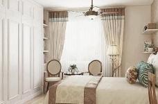95㎡简欧家居,装饰上以传统风格为代表,结合现代元素图_8
