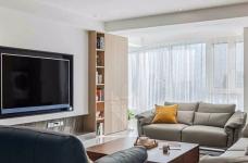 银湖翡翠-两居室原创案例设计分享图_3
