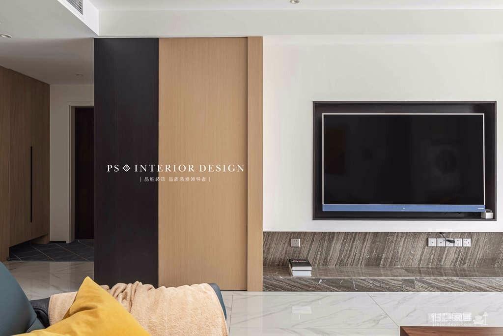 银湖翡翠-两居室原创案例设计分享图_2