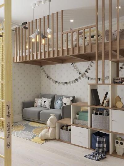 儿童空间设计细节,是真的棒