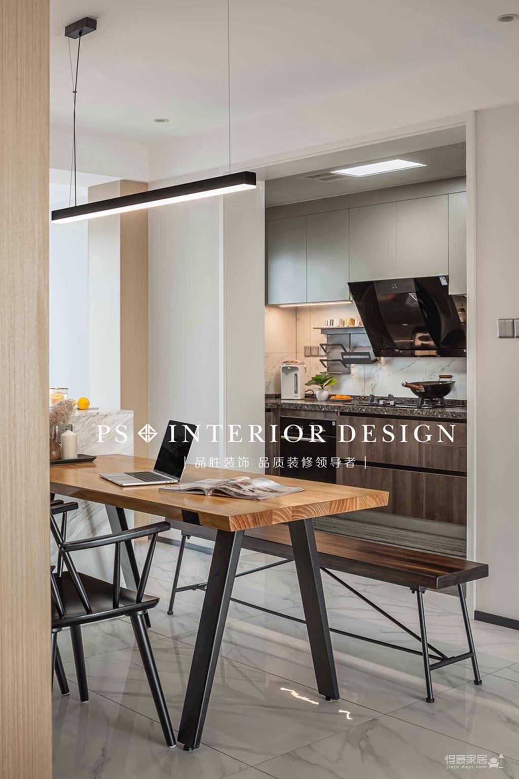银湖翡翠-两居室原创案例设计分享图_9