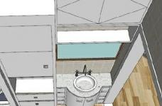 95㎡简欧家居,装饰上以传统风格为代表,结合现代元素图_3