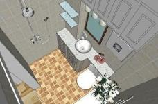 95㎡简欧家居,装饰上以传统风格为代表,结合现代元素图_6