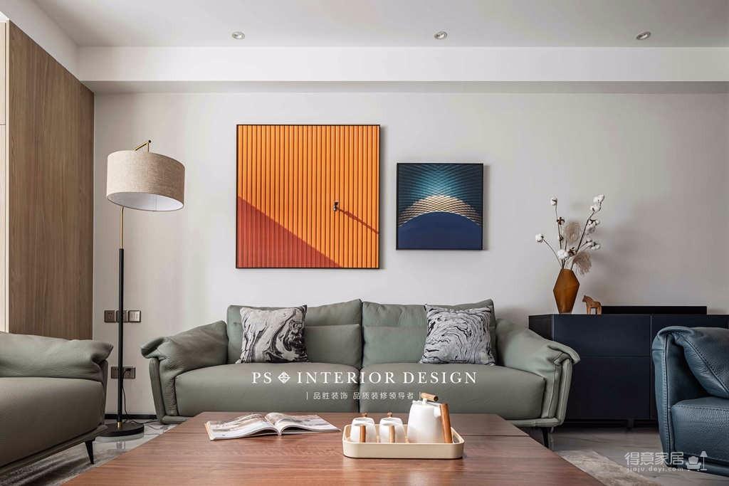 银湖翡翠-两居室原创案例设计分享图_5