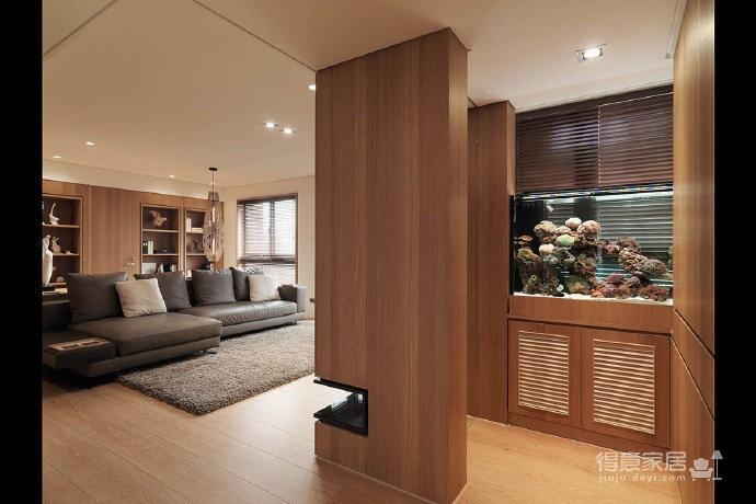 110m²现代简约设计 生活原本的样子就该是这样淡如水图_3