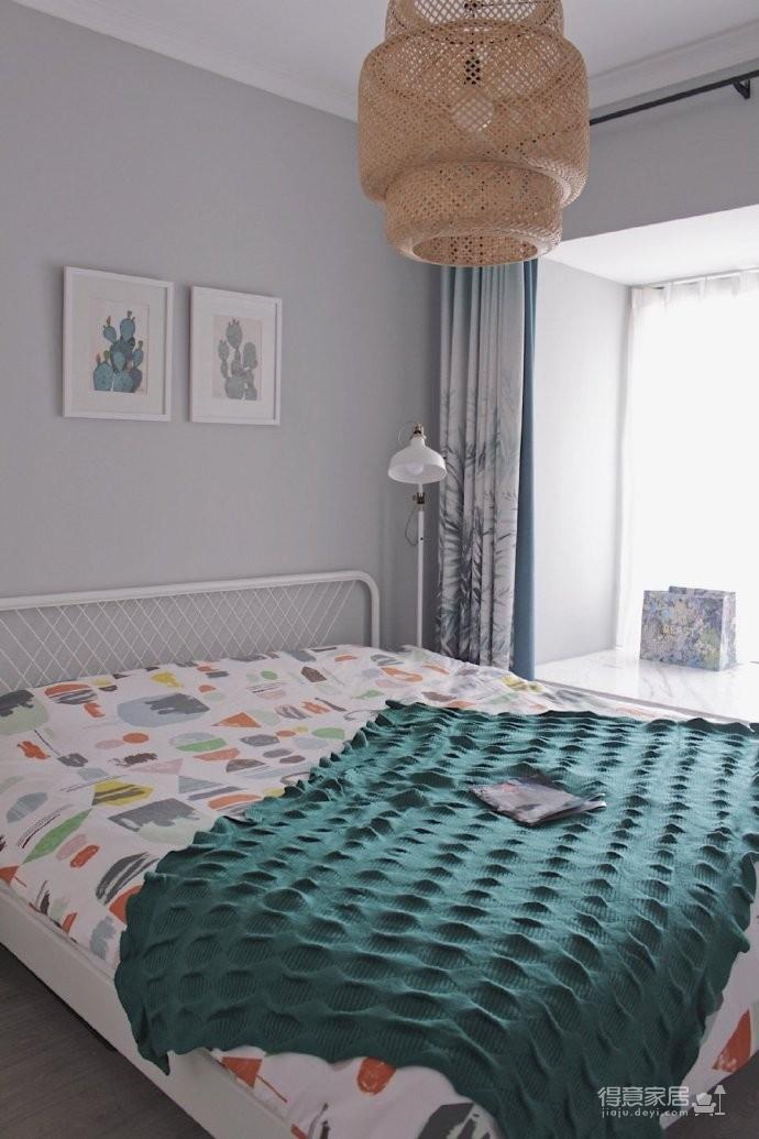 125平北欧风格装修,喜欢简单自然放松的家居环境