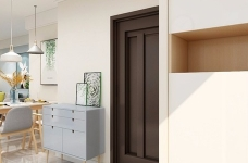 案例以清新舒适为主线,在简洁大方的硬装基础上,协同简单的软装搭配,让不大的空间也充满了实用情趣。图_8