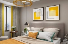 业主一家决定用北欧的简洁清爽开启崭新的生活。在简洁的空间里,通过巧妙地利用原始案例,营造出一个清爽舒适的氛围感图_3