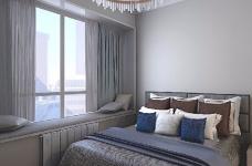 本案设计充分利用不规整的零碎空间,采用现代美式混搭风,呈现最合理舒适的环境图_5