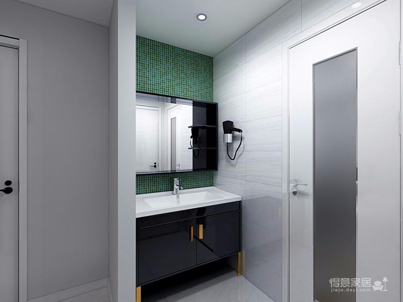 业主一家决定用北欧的简洁清爽开启崭新的生活。在简洁的空间里,通过巧妙地利用原始案例,营造出一个清爽舒适的氛围感图_7