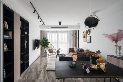 简单的生活,不简单的人生。79平米北欧风格两居室
